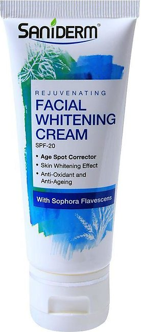 Saniderm Rejuvenating SPF 20 Facial Whitening Cream, With Sophora Flavescens,...
