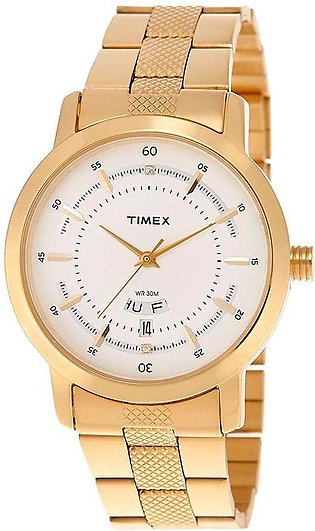 Timex Classics Analog Silver Dial Men's Watch - G907