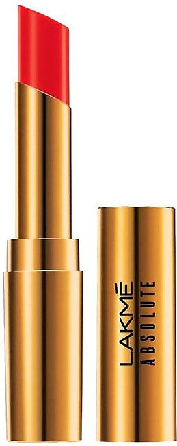 Lakme Absolute Argan Oil Lip Color 08 Drenched Red