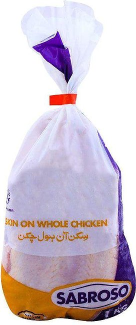 Sabroso Whole Chicken With Skin 1 KG