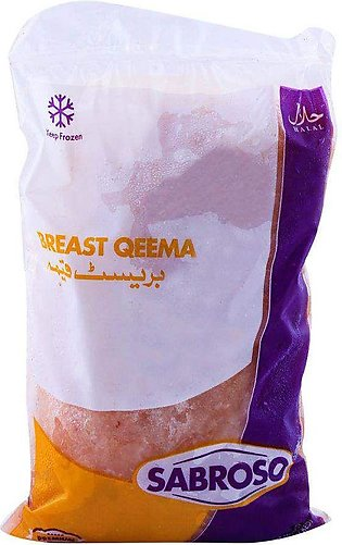 Sabroso Chicken Breast Qeema 0.5 KG