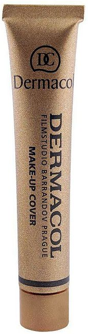 Dermacol Make-Up Cover, 218, SPF 30 Hypoallergenic Foundation, 30g