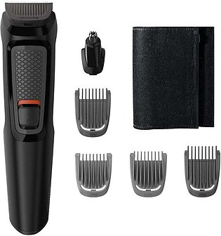 Philips Multigroom All In One Trimmer, 6 Tools, Beard & Nose, MG3710/15