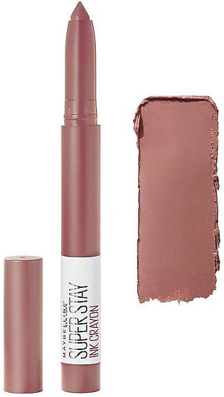 Maybelline New York Superstay Ink Crayon Lipstick, 10 Trust Your Gut
