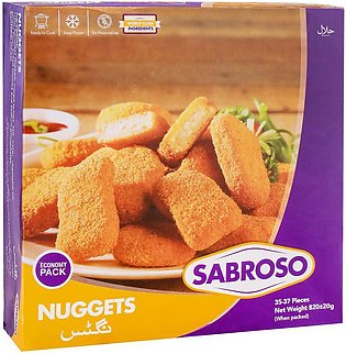 Sabroso Nuggets, 35-37 Pieces, 820g