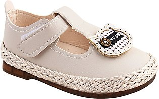Kids Shoes, For Girls, B-1, Beige