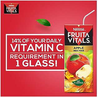 Nestle Fruita Vitals Apple Fruit Nectar 200ml