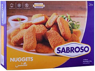 Sabroso Nuggets, 12 Pieces, 270g