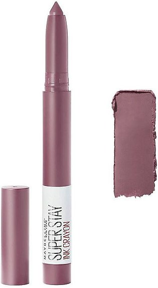 Maybelline New York Superstay Ink Crayon Lipstick, 25 Stay Exceptional