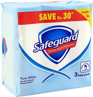 Safeguard Pure White Soap, 3-Pack, 175g