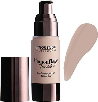 Color Studio Camouflage Foundation, High Coverage, Oil Free, W20