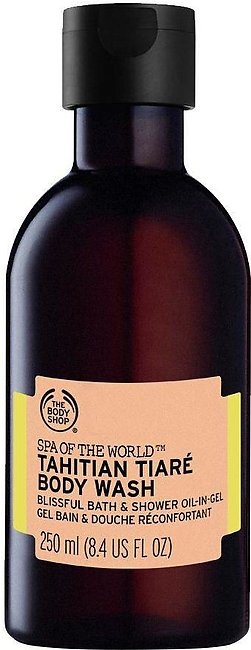 The Body Shop Spa Of The World, Tahitian Tiare Body Wash, 250ml
