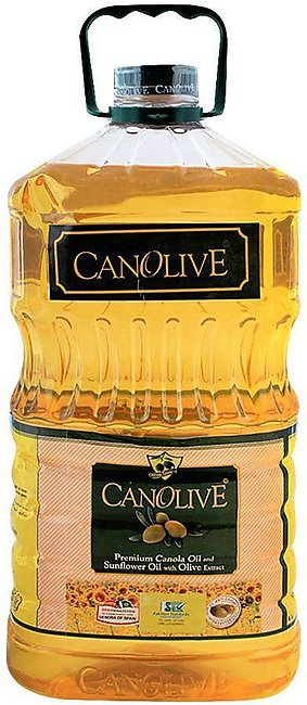 Canolive Premium Canola And Sunflower Oil 5 Litres Bottle