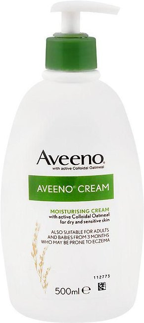 Aveeno Moisturising Cream, With Active Colloidol Oatmeal, For Dry & Sensitive S…