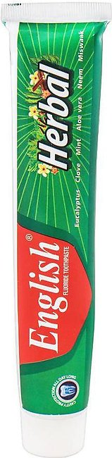 English Herbal Fluoride Toothpaste, 140g