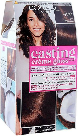L'Oreal Paris Casting Hair Color, 400 Brown