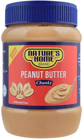 Nature's Home Peanut Butter, Chunky, 510g