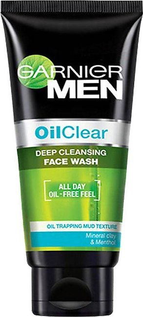 Garnier Men Oil Clear Deep Cleansing Face Wash 50g