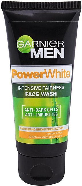 Garnier Men Power White Intensive Fairness Face Wash 50ml