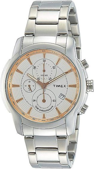 Timex E-Class Analog Silver Dial Men's Watch - TW000Y501