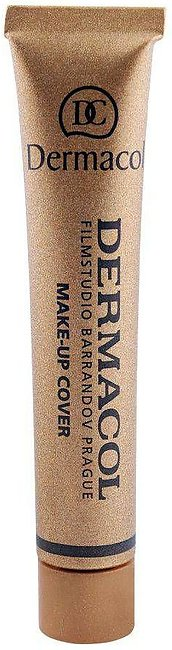 Dermacol Make-Up Cover, 209, SPF 30 Hypoallergenic Foundation, 30g