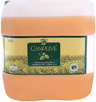 Canolive Premium Canola And Sunflower Oil16 Litres Can