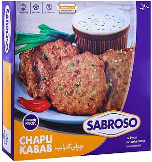 Sabroso Chicken Chapli Kabab, 12 Pieces, 888g