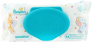 Pampers Sensitive Wipes 56-Pack Refill