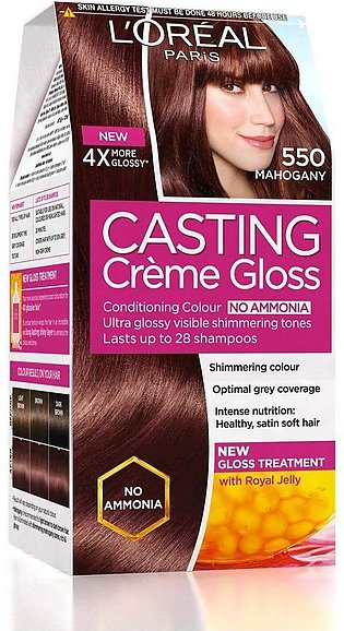 L'Oreal Paris Casting Hair Color 550, Mahogany
