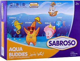 Sabroso Aqua Buddies Nuggets, 12 Pieces, 270g