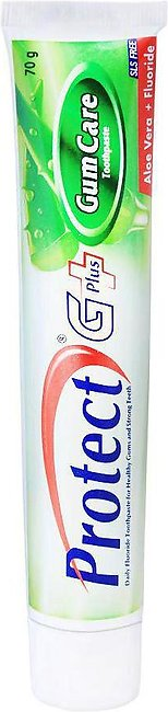 Protect G Plus Gum Care Aloe Vera + Fluoride Toothpaste, 70g