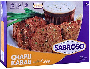 Sabroso Chicken Chapli Kabab, 4 Pieces, 296g