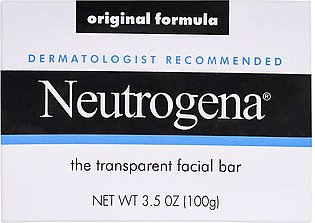 Neutrogena Original Formula Facial Bar, Transparent, 100gm