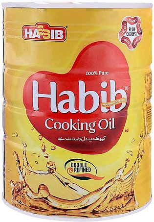 Habib Cooking Oil 2.5 Litres Tin