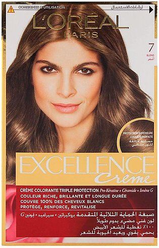 L'Oreal Paris Excellence Hair Color Blond 7
