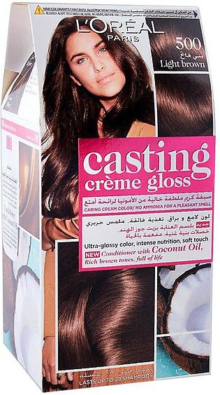L'Oreal Paris Casting Hair Color, 500 Light Brown
