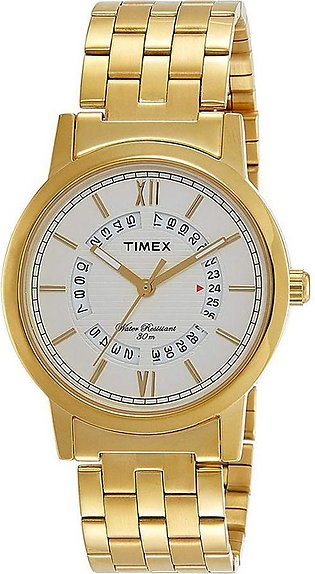 Timex Analog Silver Dial Men's Watch - TW000T125