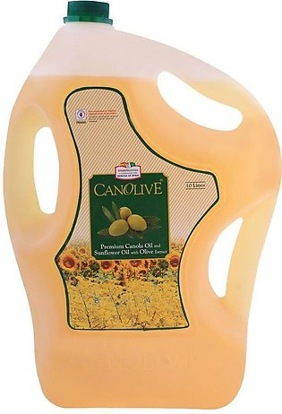 Canolive Premium Canola and Sunflower Oil 10 Litres Bottle