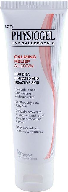 Physiogel Calming Relief A.I. Cream, Dry, Irritated and Reactive Skin, 50ml