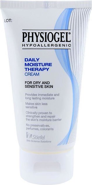 Physiogel Daily Moisture Therapy Cream, Dry and Sensitive Skin, 75ml