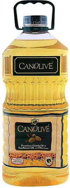 Canolive Premium Canola And Sunflower Oil 3 Litres Bottle