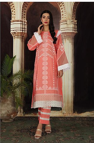 42101174-Embroidered Printed Super Fine Lawn & Printed Cambric-2PC