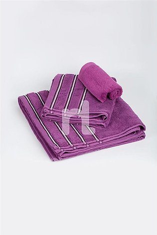 NLT-19-009/600 Gsm - Solid Dyed Towel - Purple
