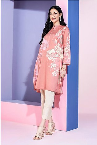 PS20-197 Digital Printed Stitched Super Fine Lawn Shirt with Mask - 1PC