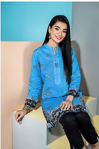 PS20-216 - Printed Stitched Lawn Shirt - 1PC