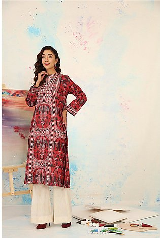 PS21-82-Basic Ptinted Shirt With Printed Trouser