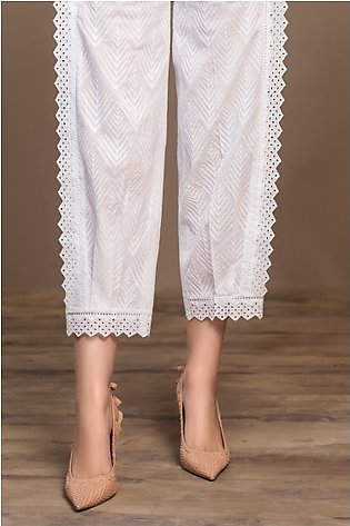 KF20-63 Dyed Embroidered Stitched Formal Trouser – 1PC