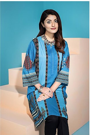 PS20-214- Printed Stitched Lawn Shirt - 1PC