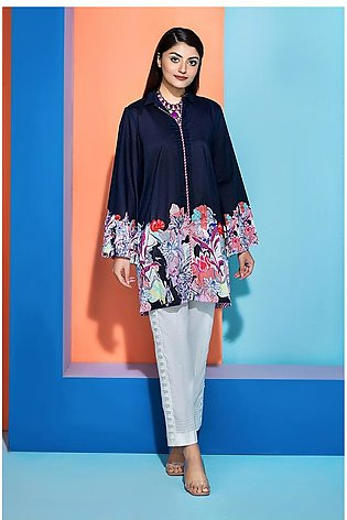 PS20-245- Printed Stitched Lawn Shirt - 1PC