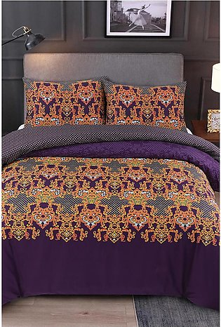 Duvet Cover Purple Pinch
